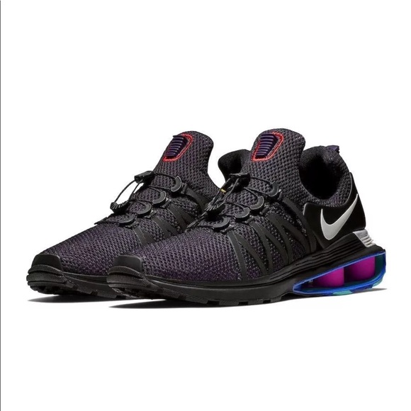 promo code ce8f4 6d88e ... get nike shox gravity running shoes purple lace free e6b80 3bc5f